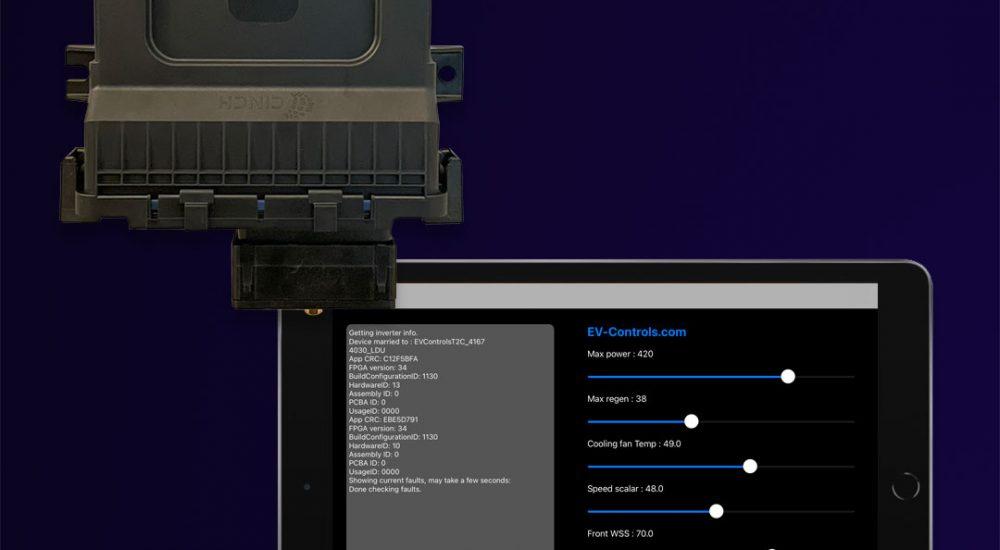 EV Controls T-2C and iPad