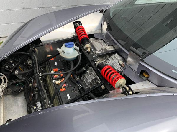 Custom 818 using Ev Controls Tesla Drive Unit Controller