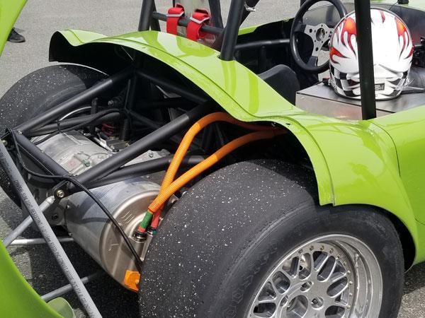 Custom Cobra using EV Controls Tesla Drive Unit Controller