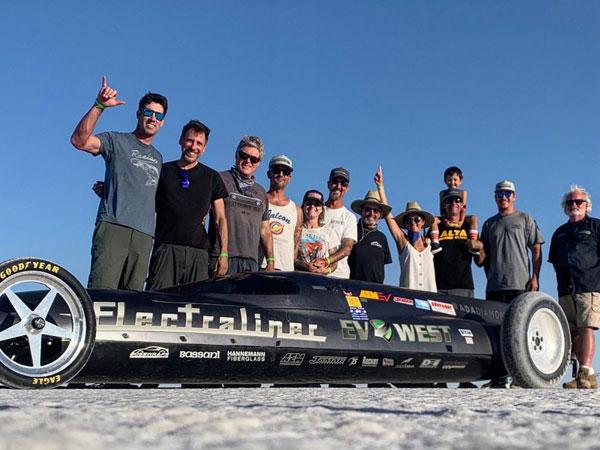 EV West sets new E2 class Land speed record at Bonneville